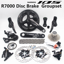 Groupset 105 Derailleurs Disc-Brake ROAD R7000-Shifter A8000 Bicycle FC CS 53-39T 50-34T