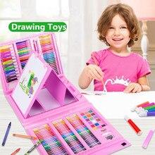 86/168 шт. Цветной карандаш, набор художников, карандаш для рисования, маркер, принадлежности для детского сада, кисть для рисования, набор инструментов