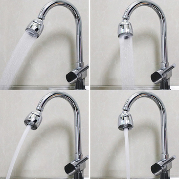 360 Rotatable Bent Water Saving Tap Aerator Diffuser Faucet Nozzle Filter Water Filter Swivel Head Kitchen Faucet Bubbler 3