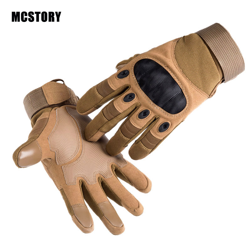 Outdoor Tactical Glove Military Army Mittens Shooting Hunting Hiking Protective Gloves Safety Fighting Cycling Airsoft Gloves
