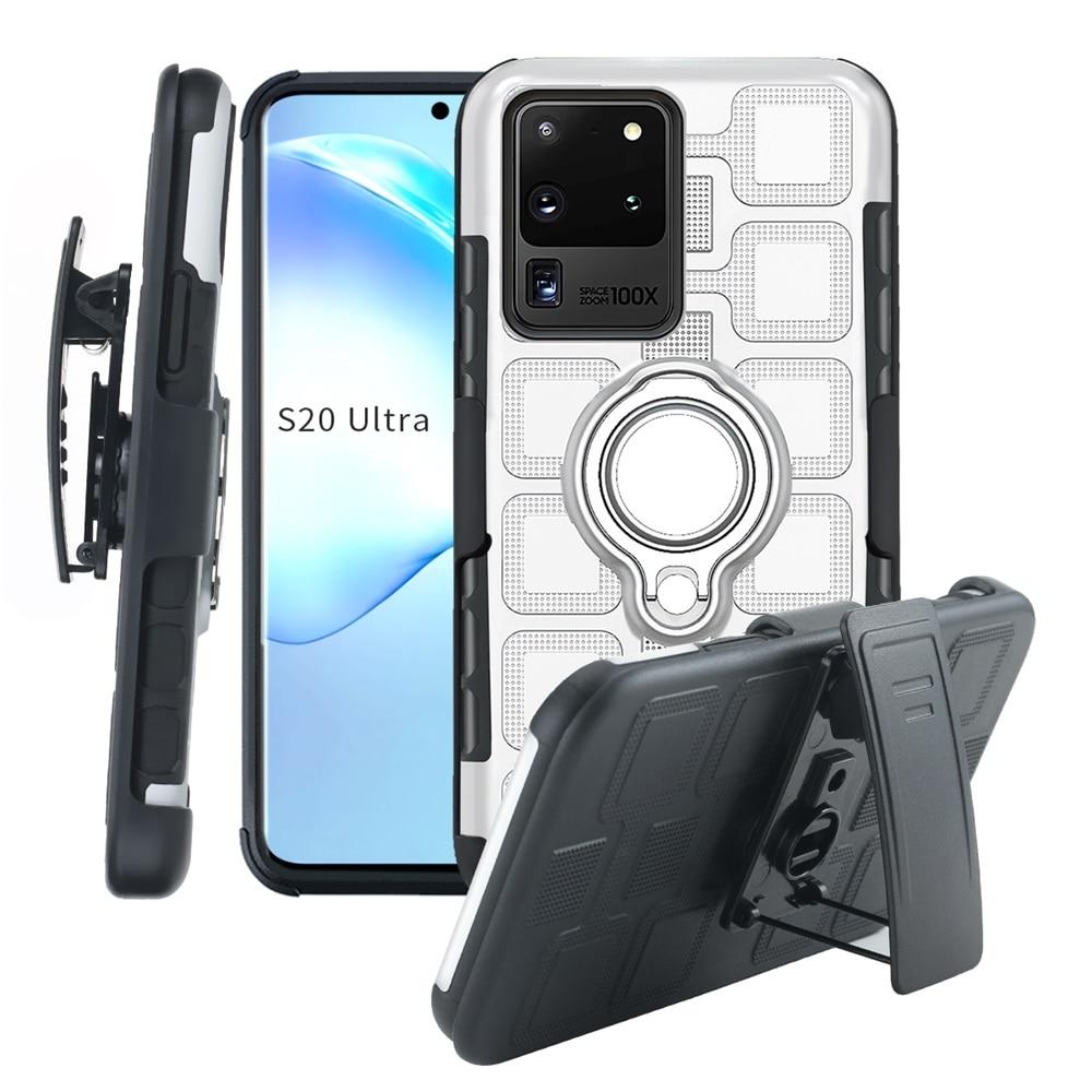 Armor Magnetic Ring Phone Case For LG Stylus Stylo 5 3 K8 K9 K10 K40 K50 K12 Q7 Q60 Pro Plus 2018 Stand Holder Back Cover Case
