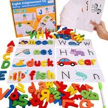 Детская английская игрушка для правописания обучающая с животными