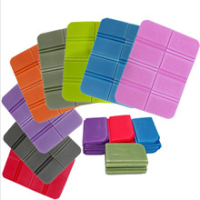 Cool Beach Camping Mat Foldable Portable Small Picnic Mats Waterproof Moisture-proof Pad Outdoor XPE Folding Cushion Hiking Tool