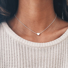 2020 New Moana Collares Kolye And The Cross-border Jewelry Contracted Simple Hearts Delicate Joker Sautoir Clavicle Necklace