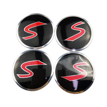For Skoda Karoq Octavia RS 2 a7 tour SSANG YONG actyon rexton kyron korando Rodius Metal Wheel Center Hub Caps Emblem Sticker