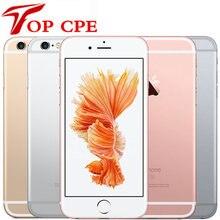 Оригинальный разблокированный Apple iPhone 6S, 4,7 дюйма, двухъядерный, 16 ГБ/32 ГБ/64 Гб/128 Гб ПЗУ, 2 Гб ОЗУ, МП, 4G LTE, IOS, сканер отпечатка пальца, сотовый те...