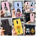 Weichen Fall Für Xiaomi Redmi 8 Fall Silikon Fundas Telefon Zurück Abdeckung Für Redmi8 Fall Sunlower Herz Mädchen Stoßstange Für xiomi Redmi 8