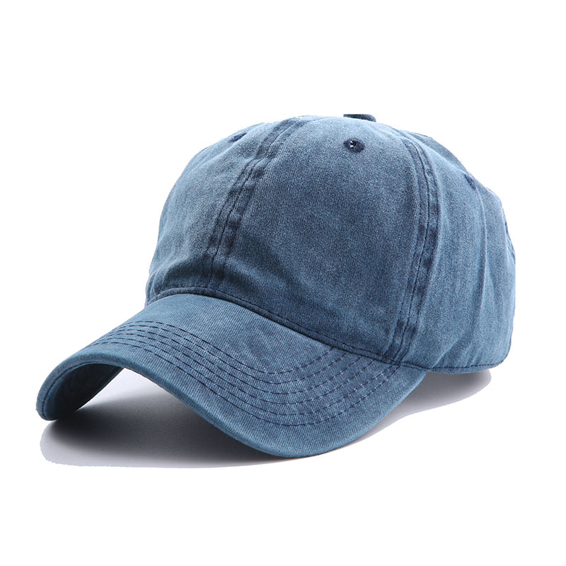 Solid Spring Summer Cap Women Ponytail Baseball Cap Fashion Hats Men Baseball Cap Cotton Outdoor Simple Vintag Visor Casual Cap 14