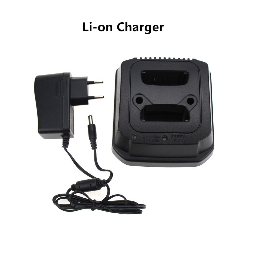 1Pcs 2-Bank EU US Desktop Li-ion Battery Charger For Motorola MTP850 Two Way Radio Battery