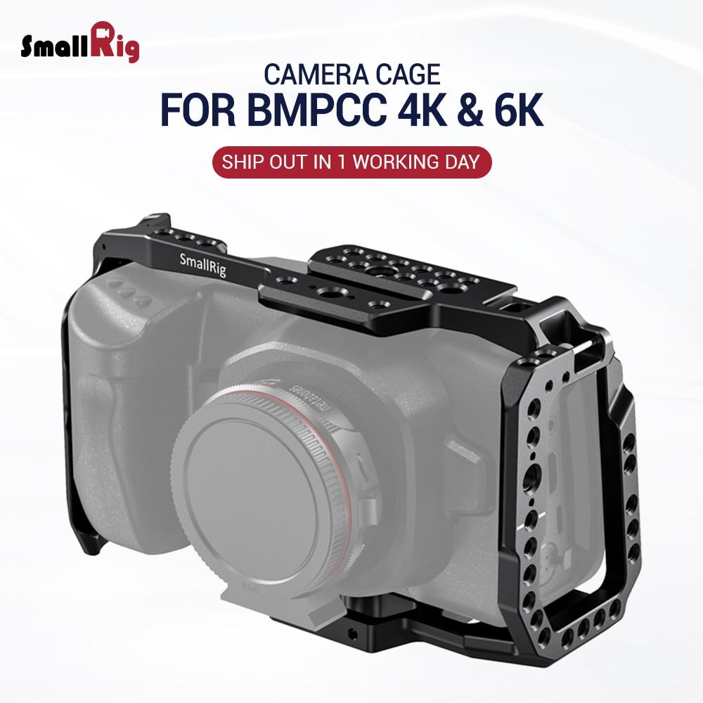 SmallRig BMPCC 4K / 6K Camera Full Cage For Blackmagic Design Pocket Cinema Camera 4K & 6K (New Version) 2203B