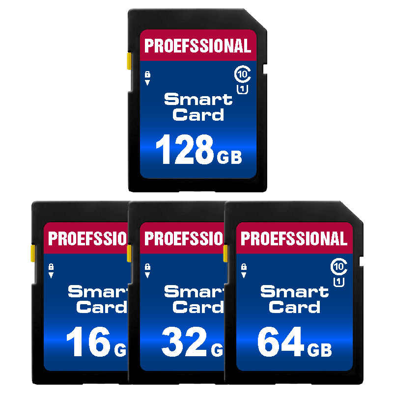 Sd-kaart 8Gb 16Gb 32Gb Sdhc Geheugenkaart High Speed Class10 Flash Card 64Gb 128Gb mini Sdcard Voor Digitale Camera