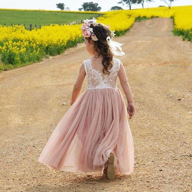 3-8 Years Summer Dress...