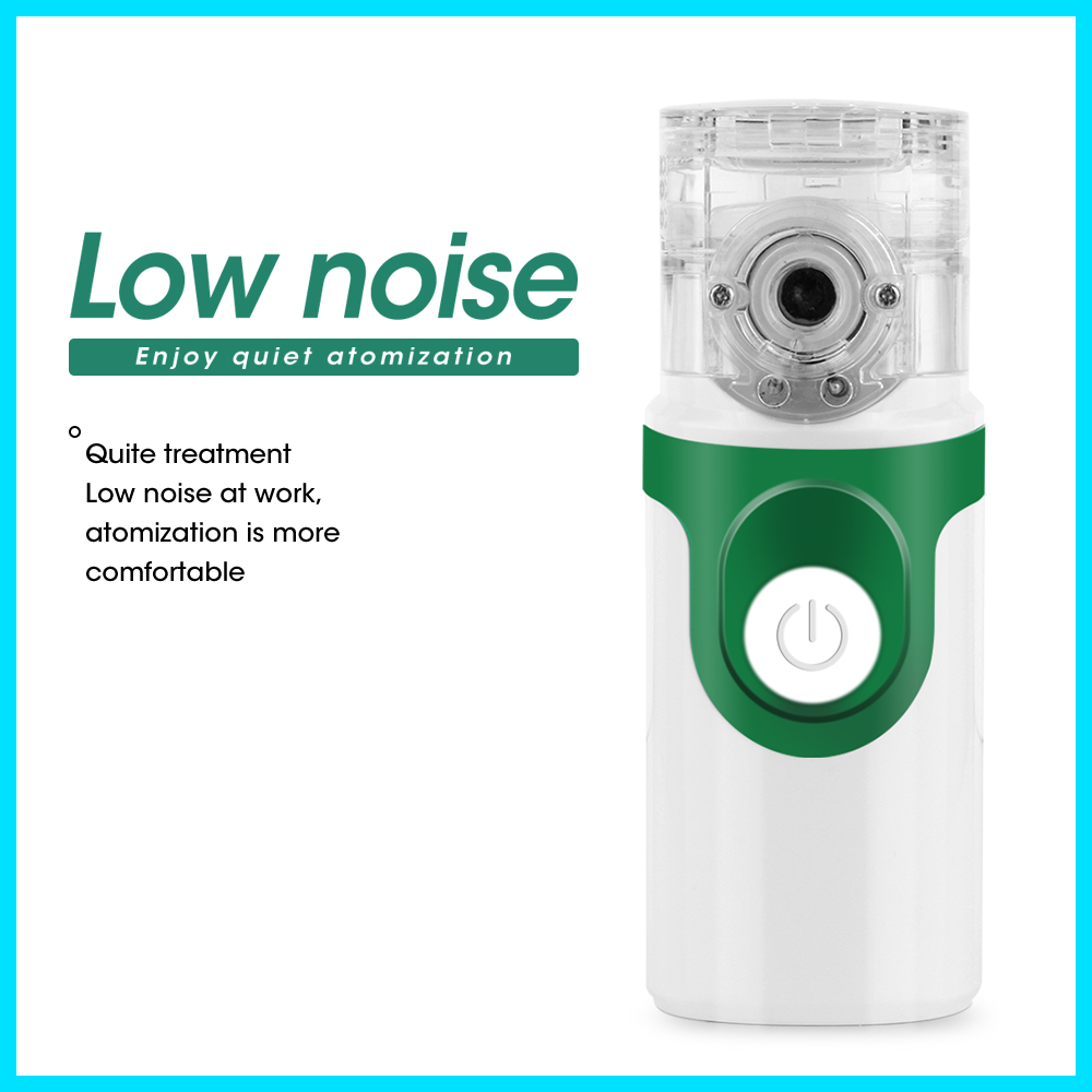 Image 4 - Health Care Handheld Portable Inhale Nebulizer Silent Ultrasonic  Children Adult Rechargeable Automizer Medical Equipment YM 252Steaming  Devices