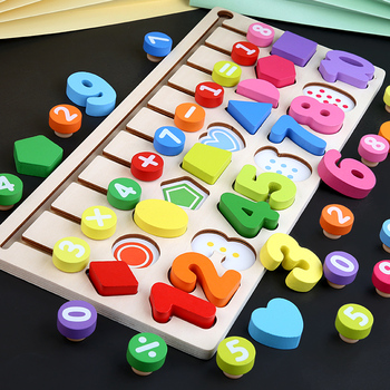 learning toys for children Logic Learning Board 3d puzzles educational toys Teaching Montessori puzzles wooden daycare baby gift montessori wooden puzzles toys for kids educational children puzzles board animal fruit gifts toys wholesale dropshipping