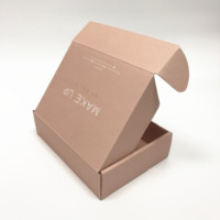 Eco friendly custom kraft corrugated paper mailer packaging box printing
