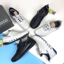 New Spring Autumn Golf Shoes Size 39-45 Genuine Leather Golf Footwears Outdoor Comfortable Anti Slip Jogging Walking Sneakers