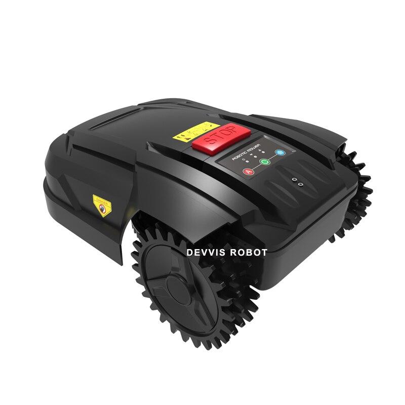 Die 7th Günstigste Mini Roboter Rasenmäher H750 mit WIFI APP, Gyroskop Navigation, Wasser proofed ladegerät, subarea + Bereich Funktion - 3