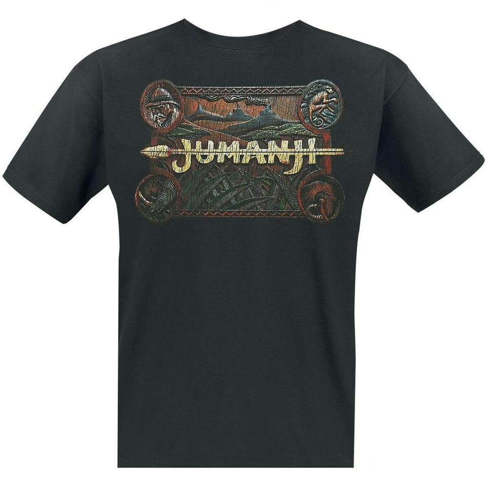 Jumanji - Classic Logo - T-Shirt Ufficiale Uomo Popular Tee Shirt