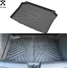 Черный коврик для пола повышенной прочности защита багажника