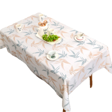 Fashion Tablecloth Oil-proof PVC Tablecloth for Dinning Room Party Family Dinner