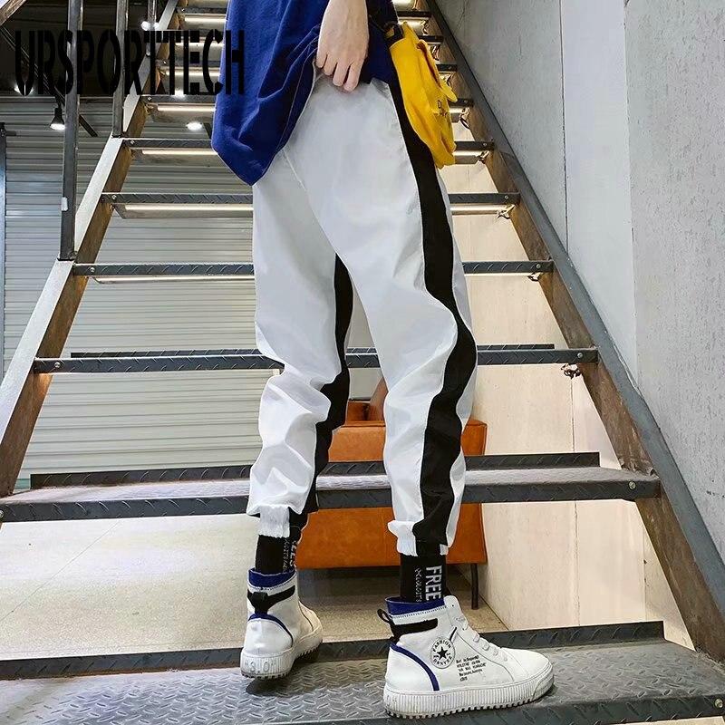 2020 Streetwear Mens Multi Pockets Cargo Harem Pants Hip Hop Casual Male Track Pants Joggers Trousers Fashion Harajuku Men Pants