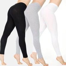 Женские леггинсы из полиэстера женские черные размера плюс xxxxl
