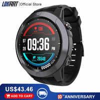 LOKMAT Full Touch Smart watch Men women SIM Card Waterproof Heart Rate Bluetooth Calls Sport GPS Clock Smartwatch For Xiaomi ios