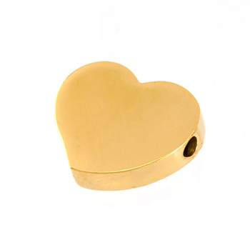2mm Heart shape pendant Stainless Steel Charm For DIY Jewelry Making  Mirror/brush Polished 50pcs