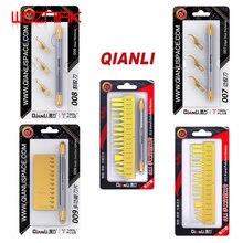 Нож QIANLI 007 008 009 011, профессиональный инструмент для технического обслуживания, скребок для удаления клея с микросхемы, оболочка для ЦП Iphone