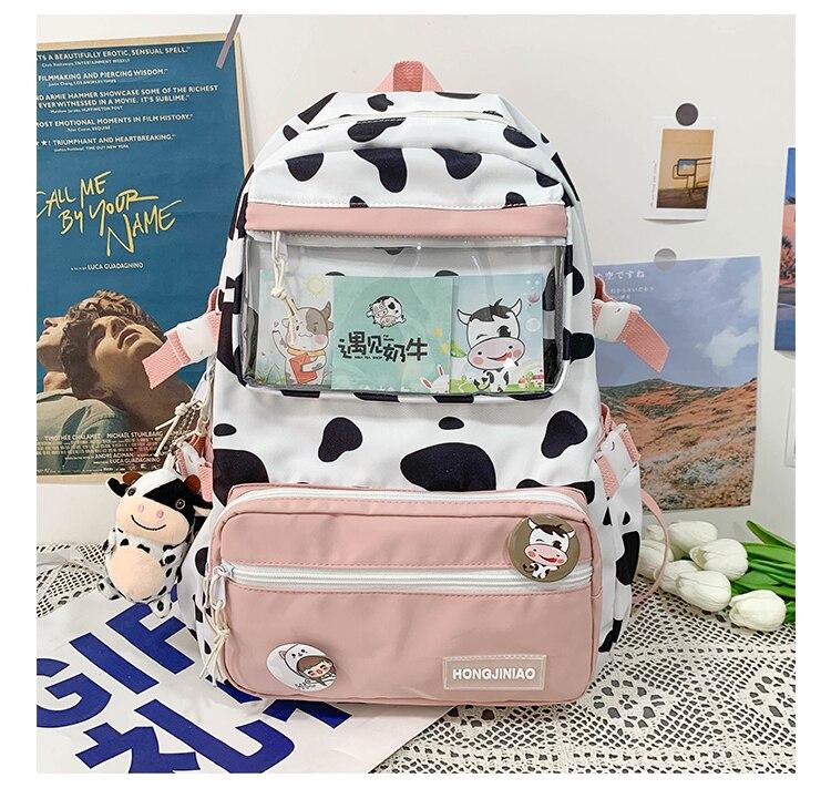 bagpack estilo coreano senhora bookbagbags feminino mochila