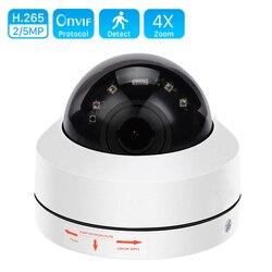 1080P PTZ Speed Dome IP Camera 5MP Full HD Onvif 4X Zoom P2P 40m Night Vision Waterproof P2P 2MP Outdoor Dome POE PTZ IP Cam