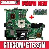 N56VM Motherboard Für Asus N56V N56VM N56VV N56VJ N56VB Laptop motherboard N56VM Mainboard N56VM Motherboard GT630M/GT635M
