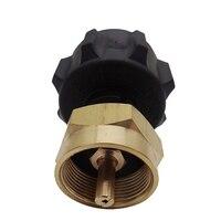 ABUO 1 £ Propan Adapter Set Refill Adapter Und Steak Saver Gas Grill Adapter Universal 1 Pfund/16 4 Unzen einweg Kleine Bot Outdoor-Werkzeuge    -