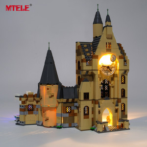 MTELE Brand LED Light Up Kit For Hogwarts Clock Tower Lighting Set Compatile With 75948 (NOT Include The Model)