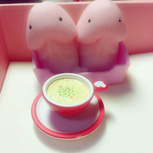 1/4/6/8/10pcs Small Mochi Ding Ding Focus Squeeze Toys Fool Joke Anti Pressure Gift NSV775