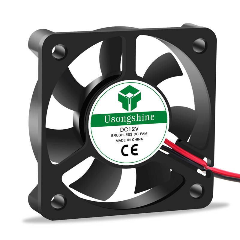 2pin Brushless Cooling Fan in Sleeve-Bearing Design as 3D Printers Parts with 7-Blades 7