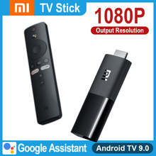 Versão global xiaomi mi tv vara 1080p multi-idioma google assistente netflix spotify inteligente android tv vara de xiaomi 2020