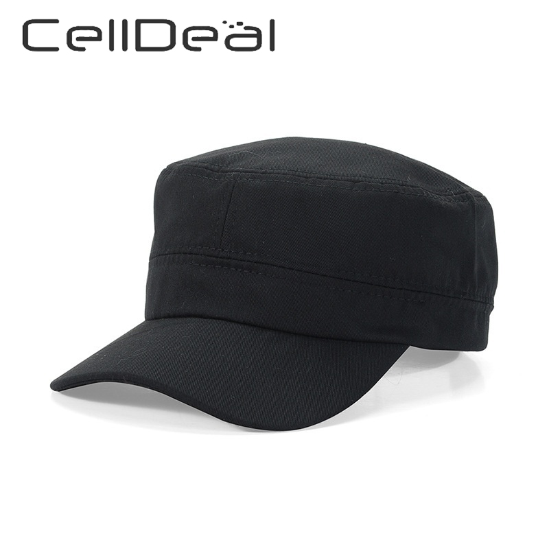 Women Men Adjustable Cotton Plain Hat Summer VisorUnisex Solid Baseball Caps Classic Vintage Travel Sport Military Cadet Hat