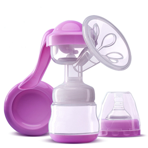 MissAbigale Real Bubee Breast Feeding Pump Lactation Milk Extractor Manual Silicone Breast Pump Baby Bottle Breastfeeding