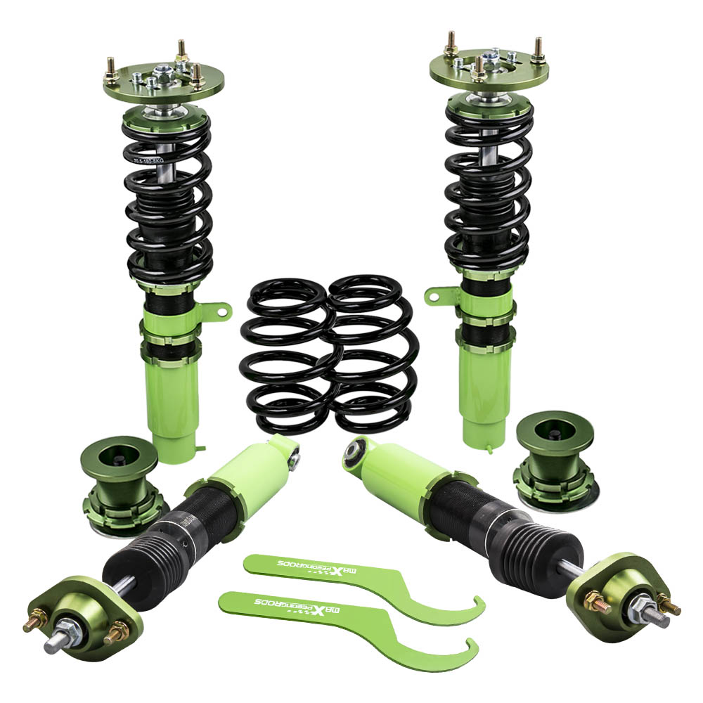 Coilovers coilover Coil Strut Suspension Kits for BMW E46 3 Series 320i 323i 323Ci Shock Strut Adjustable Mount Coil Springs