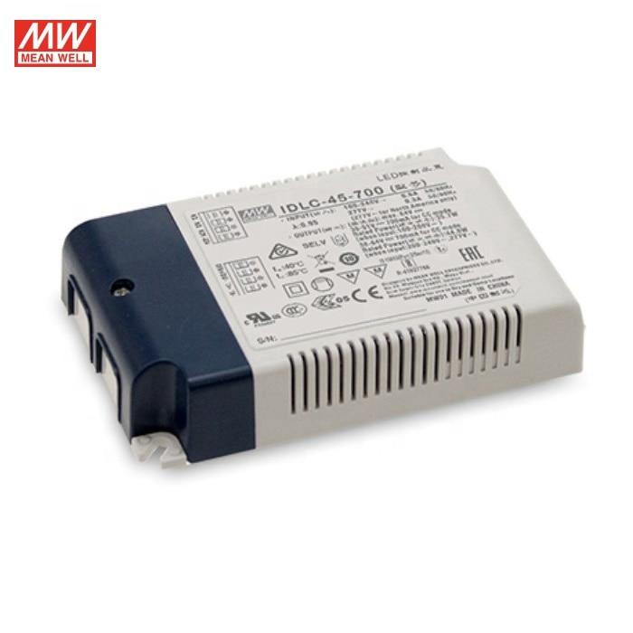 MEAN WELL IDLC-45 Series 90-295V 350-1050mA блок питания для светодиодного драйвера постоянного тока с одним светодиодный ходом