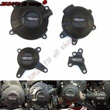 Capa de proteção para motor de motocicleta, capa protetora para motor de corrida para yamaha mt09 fz09 tracer 900/900gt sxr900