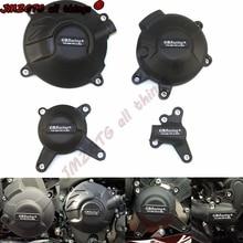אופנועים מנוע כיסוי הגנת מקרה עבור מקרה GB מירוץ עבור ימאהה MT09 FZ09 Tracer 900/900GT SXR900 מנוע CoversProtectors