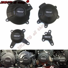 Motorräder Motor abdeckung Schutz fall für fall GB Racing Für YAMAHA MT09 FZ09 Tracer 900/900GT SXR900 Motor CoversProtectors