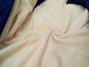 Image 3 - ملابس شتوية للأطفال الأولاد ملابس من الفرو الطبيعي ملابس ثلوج للأطفال الرضع قطعة واحدة مع قلنسوة ملابس هدية