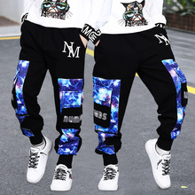 Fashion Baby Boy Sport Pants Autumn Spring Children Loose Trousers Teenage Camouflage Joggers Pants 4 8 10 12 14Yrs Kids Clothes