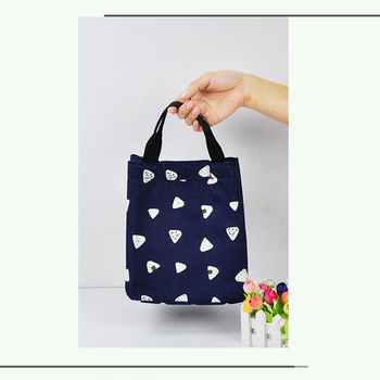 Lunch Box Bag Portable Insulation Bags Refrigerated Preservation Portable Lunch Box Bag Cute Large Waterproof Lunch Box Tote Bag недорого