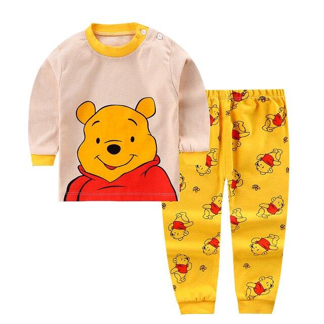 0-2year-baby-clothes-set-Winter-cotton-Newborn-Baby-boys-girls-Clothes-2PCS-Mickey-baby-pajamas