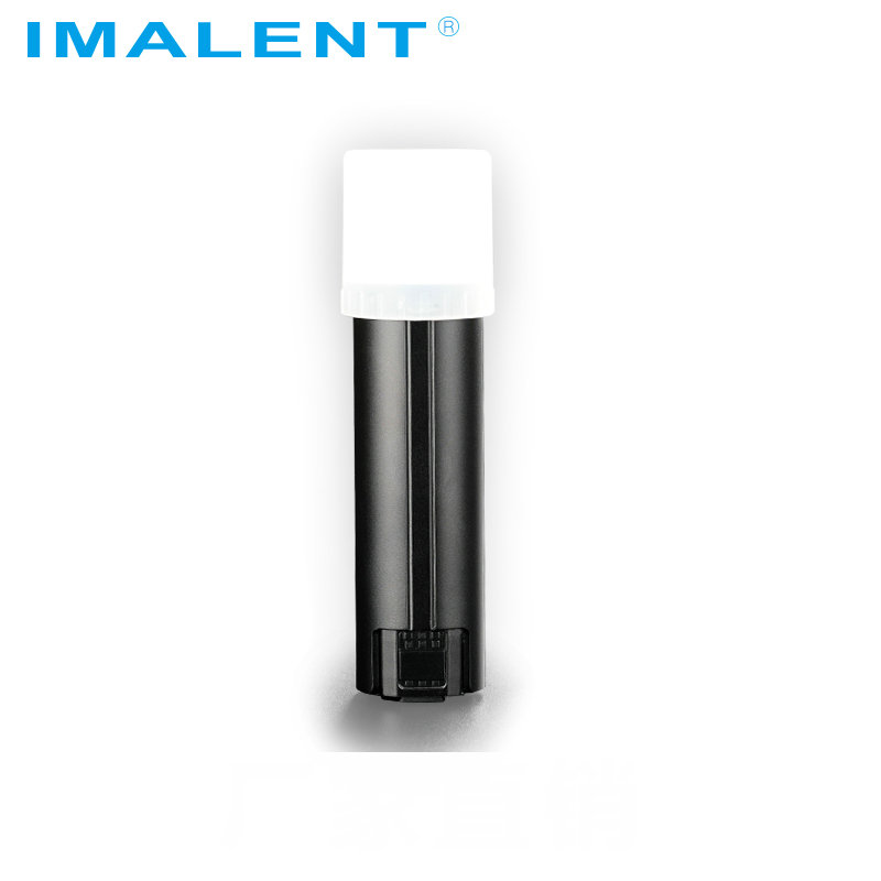 IMALENT LD10 Keychain Flashlight CREE XPL HI 5Modes 1200Lumens OLED Display Magnetical Tail Mini Led Flashlight with Battery(China)