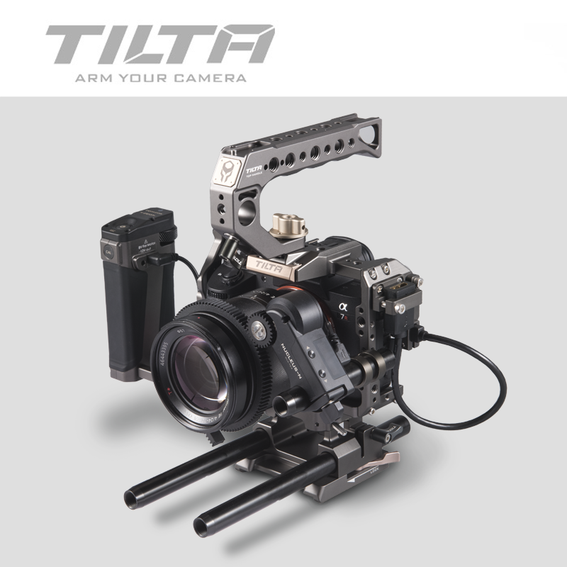 Image 5 - Tilta A7 A9 Rig Kit A7 iii Full Cage TA T17 A G Top Handle  baseplate Focus handle For Sony A7 A9 A7III A7R3 A7M3 A7S3Photo Studio  Accessories